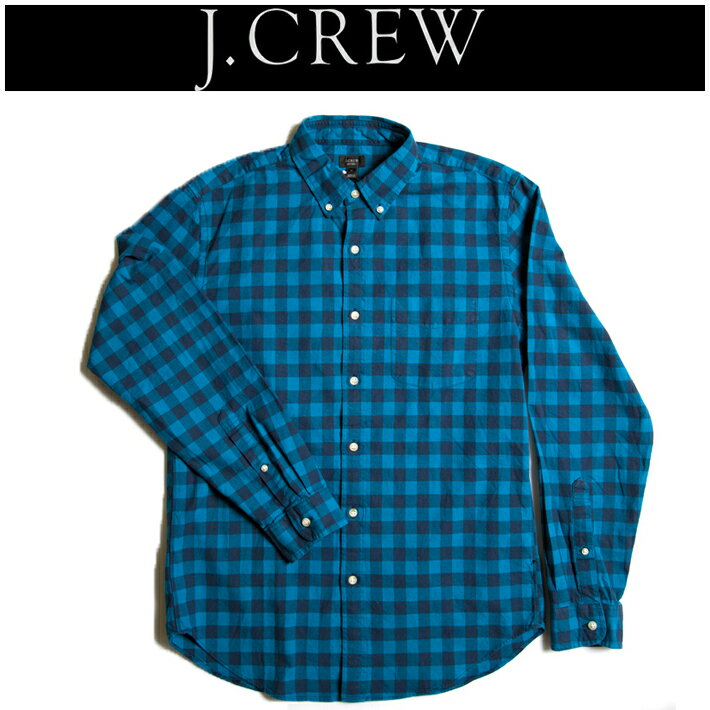 ジェイクルー【J.CREW】   オックスフォードBDギンガムチェックシャツ シンプル ハイクオリティー アメカジ ヴィンテージ コラボ RRL 定番 注目ブランド