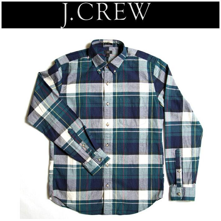 ジェイクルー【J.CREW】   オックスフォードBDチェックシャツ シンプル ハイクオリティー アメカジ ヴィンテージ コラボ RRL 定番 注目ブランド
