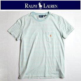 ラルフローレン 【RALPH LAUREN】 ボーダーポケTee / 定番 人気 ブランド ブラックレーベル ブルーレーベル アメカジ トラッド ブリティッシュ RL