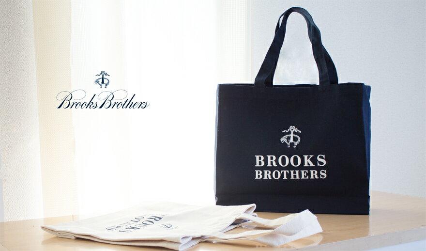 BROOKS BROTHERS(ブルックスブラザース)オーガニックコットントートバッグ