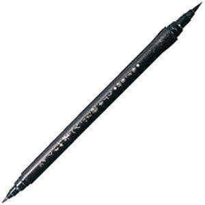 (まとめ)呉竹 筆ぺん DY151-30B 硬毛筆【×10セット】