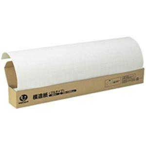 ジョインテックス 方眼模造紙プルタイプ50枚白 P152J-W6
