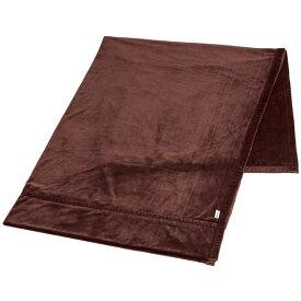 ストレッチ 掛け毛布/寝具 【ワインブラウン ダブル】 洗える 保温性 ポリエステル 『ファイテン PHITEN 星のやすらぎ』