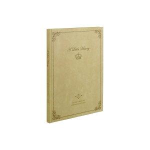(業務用セット) 100年台紙黒 ブック式フリーアルバム 写真/クラシック/A4ノビサイズ アH-A4PB-210-V ベージュ【×3セット】