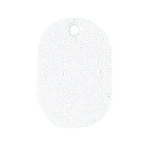 (まとめ) ソニック 番号札 大 5枚 NF-741-W 白【×30セット】
