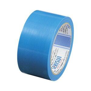 (まとめ) セキスイ フィットライトテープ 長さ25m N738A04 青 1巻入 【×10セット】