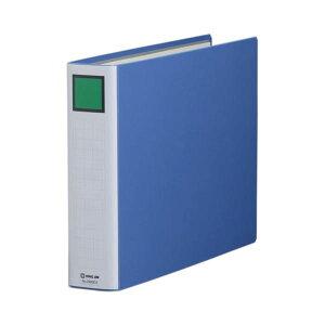 (まとめ) キングファイル スーパードッチ(脱・着)イージー B4ヨコ 500枚収容 背幅66mm 青 2495EA 1冊 【×10セット】