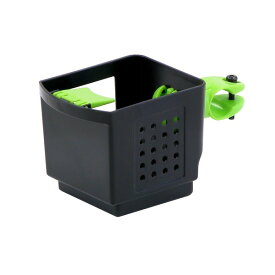 ドリンクホルダー 【OGK】 PBH-003 ブラック(黒)&グリーン(緑) 〔自転車パーツ/アクセサリー〕【代引不可】