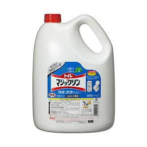 (まとめ) 花王 トイレマジックリン 消臭・洗浄スプレー ミントの香り 業務用 4.5L 1本 【×2セット】