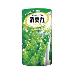 (まとめ) エステー トイレの消臭力 トイレの消臭力 アップルミント 1個入 【×5セット】
