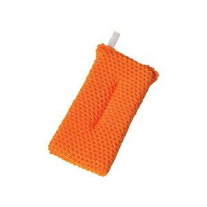 (まとめ)アイセン アクリルネットクリーナー オレンジ YK002 1個【×20セット】