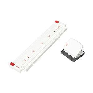 (まとめ)カール事務器 ゲージパンチ ホワイトGP-2630-W 1台【×5セット】