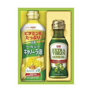 (まとめ)日清オイリオ オリーブオイル&バラエティオイルギフトセット B5044016【×3セット】