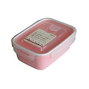 (まとめ) 保存容器/スマートフラップ&ロックス 【900ml L 1P ピンク】 電子レンジ・冷凍庫可 日本製 【×60個セット】