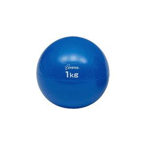 (まとめ)トーエイライト ソフトメディシンボール1kg【×5セット】