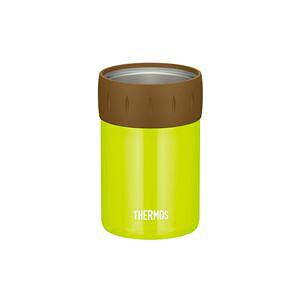 【12個セット】 【THERMOS サーモス】 保冷 缶ホルダー 【350ml缶用 ライムグリーン】 真空断熱ステンレス魔法びん構造