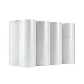(まとめ)TANOSEE トイレットペーパーシングル 芯なし 250m 1ケース(24ロール:6ロール×4パック)【×2セット】