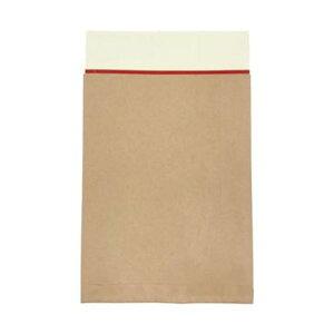(まとめ)キングコーポレーション ポストイン封筒小100g/m2 未晒クラフト 190412 1ケース(100枚)【×5セット】