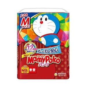 (まとめ)ユニ・チャーム マミーポコパンツドラえもん M 1パック(58枚)【×10セット】