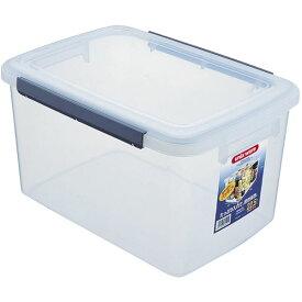 キッチン用 密封保存容器/大型タッパー 【22.5L】 幅31cm 『アスベル ユニックス ウィル キッチンボックス』 〔台所用品〕
