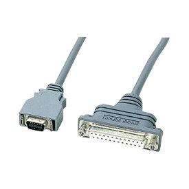 (まとめ)サンワサプライ RS-232CケーブルNEC PC9821ノート対応 (セントロニクスハーフ14pin)オス-(D-Sub25pin)メス KRS-HA1502FK1本【×3セット】