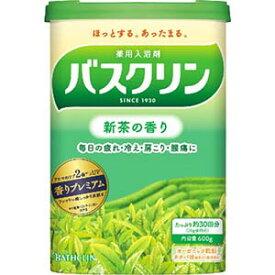 バスクリン 新茶の香り600g