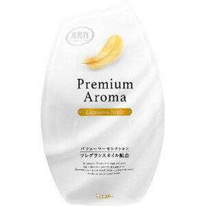 エステー お部屋の消臭力 PremiumAroma ルミナスノーブル 400ml