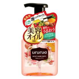 牛乳石鹸 ウルルア 美容オイルinハンドウォッシュ ポンプ付220ml