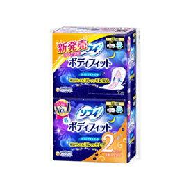ユニチャームソフィ ボディフィット スーパーナイトガード羽つき 9枚×2個