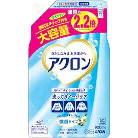 ライオン ライオン アクロンナチュラルソープの香りつめかえ900ml