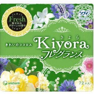 ユニチャーム ソフィ キヨラ フレグランスフレッシュ 72枚 (0708-0404)