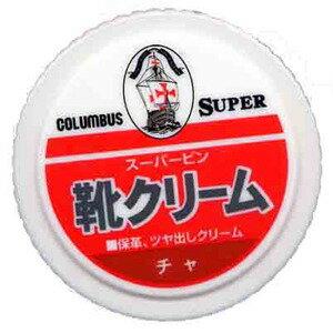 コロンブス スーパービン 茶 靴クリーム 45G (1715-0414)