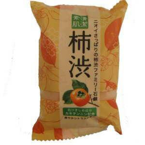 ペリカン石鹸 ファミリー柿渋石鹸 80g(2218-0206)