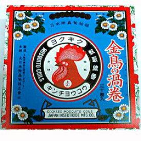 大日本除虫菊 金鳥の渦巻き 紙箱 30巻 (1328-0102)