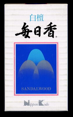 日本香堂 白檀毎日香 徳用バラ詰160g (1213-0303)