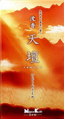 【取り寄せ】日本香堂沈香天壇バラ詰125g(1210-0108)