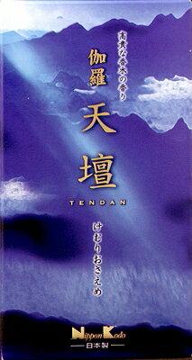 【取り寄せ】日本香堂伽羅天壇バラ詰125g(1210-0107)