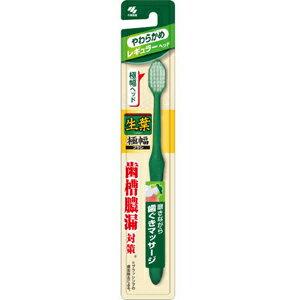 小林製薬 生葉 極幅ブラシ やわらか 1本 (1108-0406)