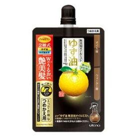 ウテナ ゆず油 無添加オイルミスト 詰替用 160ml (2221-0308)