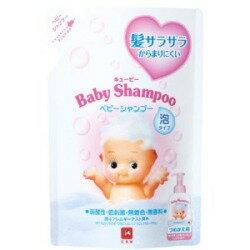 牛乳石鹸 キューピー ベビーシャンプー泡タイプ 詰替用 300ml (1221-0306)