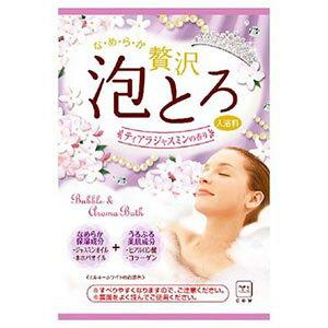 牛乳石鹸 お湯物語 贅沢泡とろ 入浴料 ティアラジャスミンの香り 30g