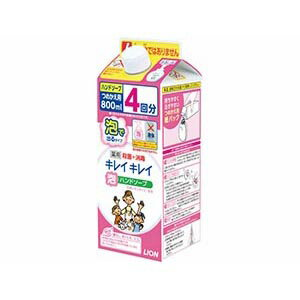 ライオン キレイキレイ 薬用泡ハンドソープ 詰替用 800ml