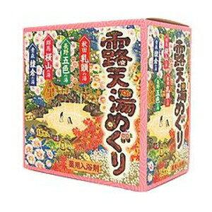 アース製薬 露天湯めぐり 薬用入浴剤 18包入 (0216-0205)