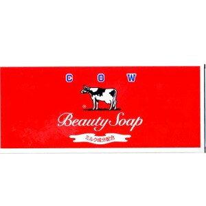 牛乳石鹸 赤箱 100g×6個 (0302-0202)