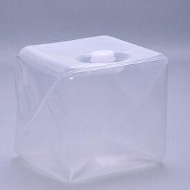 フレキシブル液体容器「キュービテーナー」 内容器 + スクリュー式キャップ 10L 50個セット