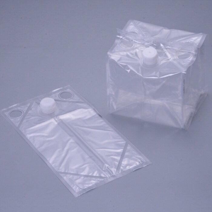 フィルム液体容器「Zテーナー」 内容器 + スクリュー式キャップ 10L 50個セット