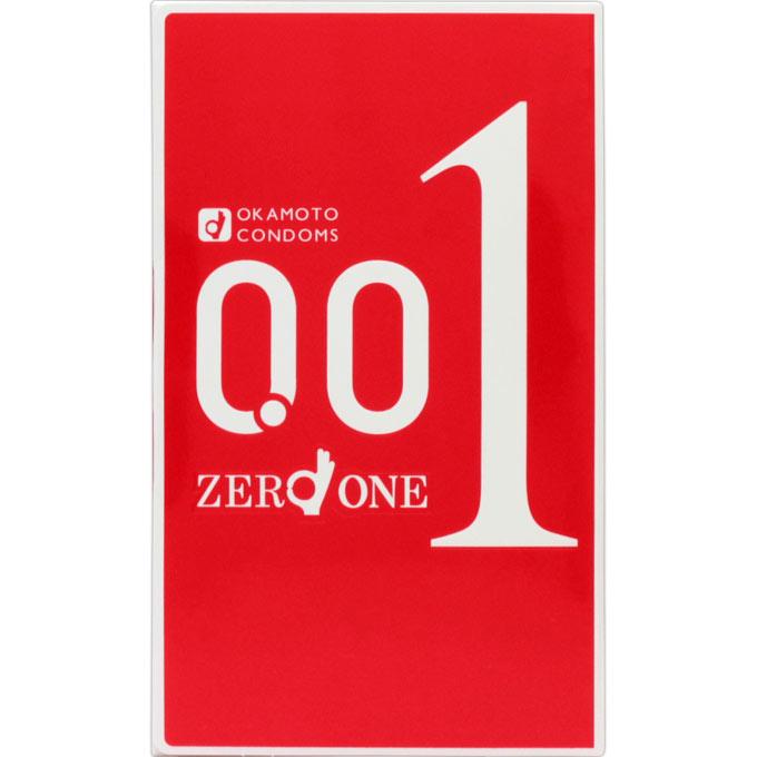 [オカモト]ゼロワン 0.01ミリ(3個入り)/コンドーム/スキン/001/ゼロゼロワン