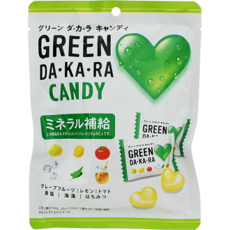 [Lotte] GREEN DA-KA-RA candy 79 g / mineral supplementation / heatstroke prevention /DAKARA / green Dakar
