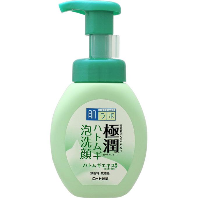 [ロート製薬]肌ラボ 極潤ハトムギ泡洗顔 160mL/ドクダミエキス/ニキビ