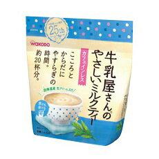 [和光堂]牛乳屋さんのやさしいミルクティー 240g/袋/カフェインレス/紅茶